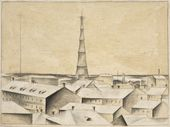 Nikolai CHERNYSHEV. Shukhov Radio Tower. 1922