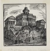 Alexei KRAVCHENKO. The Old Building of the Russian State Library. 1920s