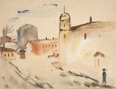 Antonina SOFRONOVA. City Square. 1931