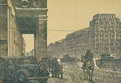 Ivan PAVLOV. Mayakovsky Square. 1943