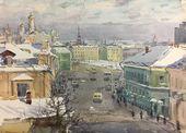 Solomon BOIM. Kropotkin Street. Moscow. 1965
