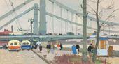 Vasily SIGORSKY. Krymsky Bridge. 1958