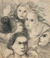 Faces. 1920