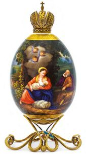 "Easter Egg ""Rest of The Holy Family on the Flight into Egypt"""