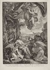 Christ in the Desert (Angels Came and Ministered unto Him)