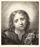 The Infant Christ with a Floral Wreath