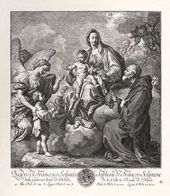 Virgin Mary and Child with St. Francis of Paola
