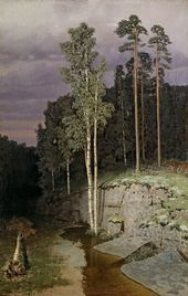 On Valaam. 1870s