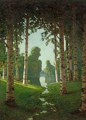 A Birch Grove. 1901