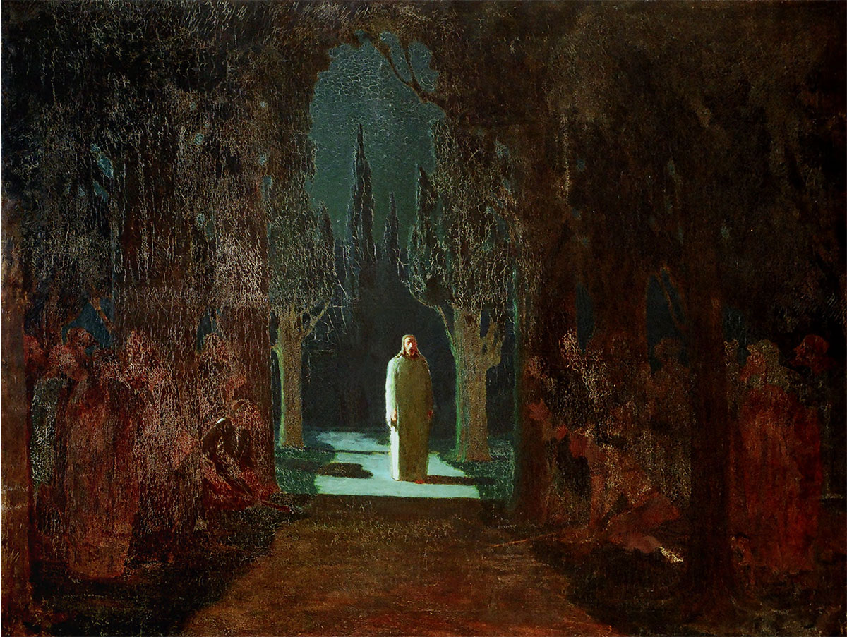 Christ in the Garden of Gethsemane. 1901