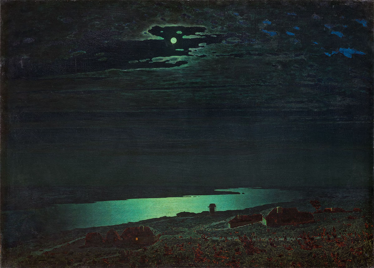 Night on the Dnieper. 1882