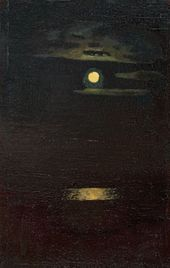 Moonlight Night. 1890s