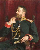 Ilya REPIN. Portrain of Grand Duke Konstantin Konstantinovich. 1891