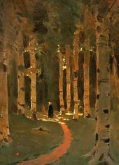 Arkhip KUINDZHI. Sunny Day in the Forest. 1910s (?)