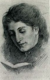 Vera Kuindzhi, Arkhip Kuindzhi's wife. Photograph of Arkhip Kuindzhi's drawing. 1875