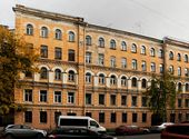 Houses 39, 41, 43, owned by Kuindzhi, on the 10th Line. St. Petersburg. 21st century