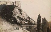 Mountain Road to Albat. Postcard. Late 19th-early 20th century