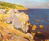Arkady RYLOV. Cliffs at Kikineiz. 1909 (?)