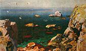 Arkady RYLOV. A Calm. 1917