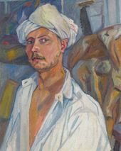 Self-portrait in a Turban. 1909