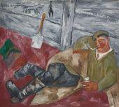 Soldier Resting. 1911