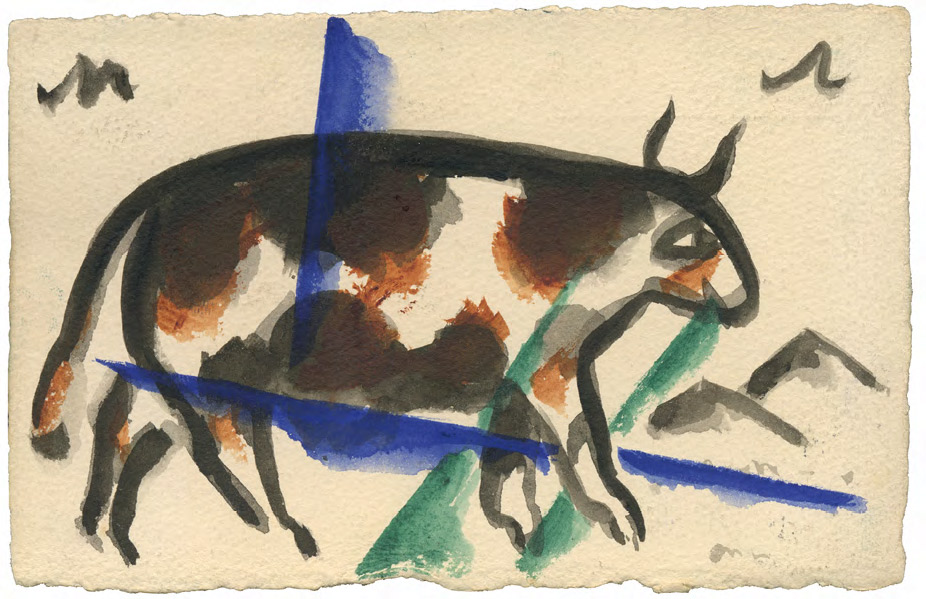 [A cow] To: Alexander Yakovlevich Tairov
