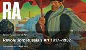 "Promotion image for ""Revolution: Russian Art. 1917-1932"""