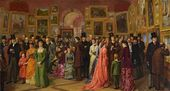 WILLIAM POWELL FRITH (1819-1909). A Private View at the Royal Academy, 1881. 1883