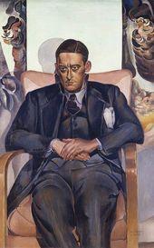 WYNDHAM LEWIS (1882-1957). T.S. Eliot. 1938