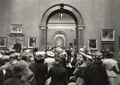 The Main Galleries during the Summer Exhibition, 1956