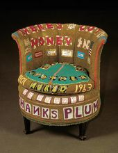 TRACEY EMIN (b. 1963) There's a Lot of Money in Chairs. 1994