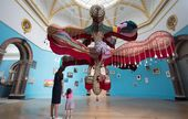 JOANA VASCONCELOS. Royal Valkyrie Central Hall, Summer Exhibition 2018 view