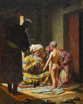 VASILY VERESHCHAGIN. The Sale of the Child Slave. 1872