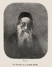 """""""Portrait of a Jewish Rabbi"""" by Vasily Vereshchagin"""