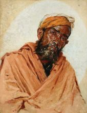 VASILY VERESHCHAGIN. Muslim Servant.