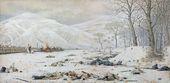 VASILY VERESHCHAGIN. Battlefield at the Shipka Pass. 1878