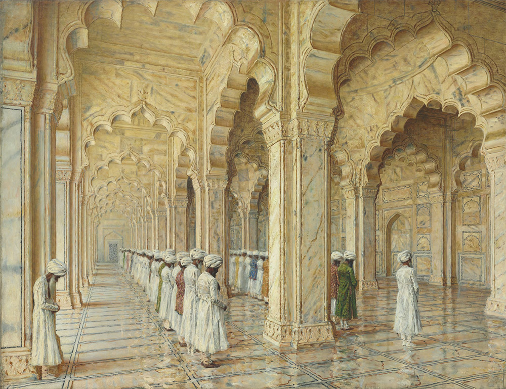 VASILY VERESHCHAGIN. The Pearl Mosque at Agra. Late 1870s-early 1880s