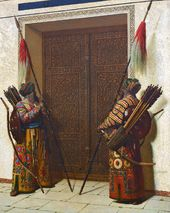VASILY VERESHCHAGIN. The Doors of Tamerlane. 1872