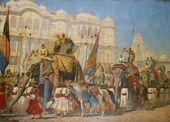 VASILY VERESHCHAGIN. The Future Emperor of India. 1876