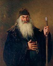Ilya REPIN. Protodeacon. 1877