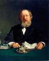 Ilya REPIN. Portrait of the Publicist Ivan Aksakov. 1878