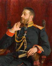 Ilya REPIN. Portrait of Grand Duke Konstantin Konstantinovich. 1891