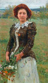 Ilya REPIN. Autumn Flowers. 1892