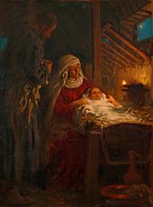 Ilya REPIN. The Nativity. 1890