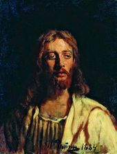 Ilya REPIN. Christ. 1884. Sketch