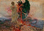Ilya REPIN. Get Thee Behind Me, Satan! 1895