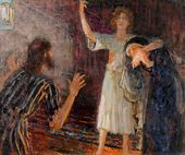 Ilya REPIN. The Young Christ in the Temple. 1918–1920