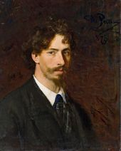 Ilya Repin. Self-portrait. 1878