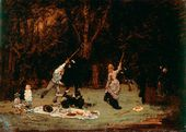 Ilya Repin. The Picnic. 1875
