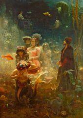 Ilya Repin. Sadko. 1876